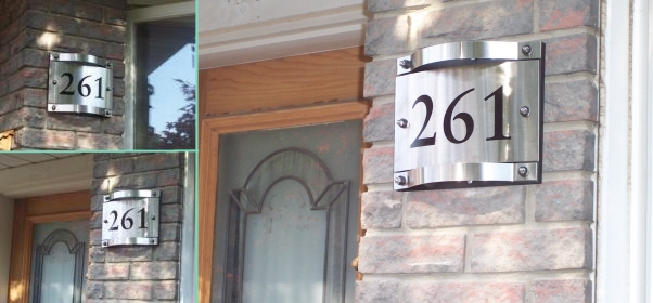 house numbering sample